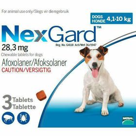 Nexgard Chewables Tick Flea Control For Large Dogs 3 Tablets