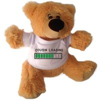 Qtees Africa Cousin Loading Teddy