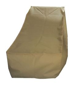 Patio Solution Covers Pool Lounger Cover Back-Up - Beige (Small)