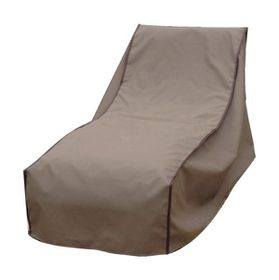 Patio Solution Covers Pool Lounger Cover Back-Up - Brown (Small)