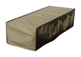 Patio Solution Covers Pool Lounger Cover Flat - Brown (Medium)