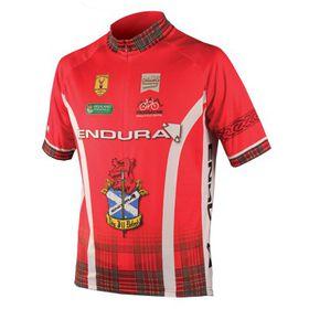 Endura Coolmax Printed Clan Jersey - Red