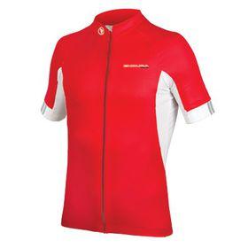 Endura FS260-Pro III Short Sleeve Jersey - Red