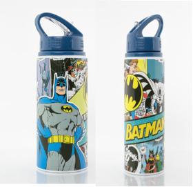 Batman Wrap - Dc Comics Aluminium Water Bottle (Parallel Import)