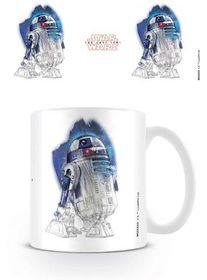 Star Wars The Last Jedi: R2-D2 Brushstroke Mug (Parallel Import)