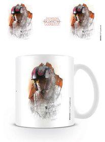 Star Wars The Last Jedi: Poe Brushstroke Mug (Parallel Import)