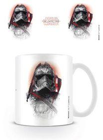 Star Wars The Last Jedi: Captain Phasma Brushstroke Mug (Parallel Import)