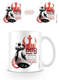 Star Wars The Last Jedi: BB-8 Resistance Hero Mug (Parallel Import)