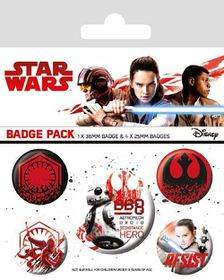 Star Wars The Last Jedi: Resist Badge Pack (Parallel Import)