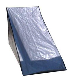 Patio Solution Covers Back-up in Polyweave Pool Lounger Cover - Silver (Medium)