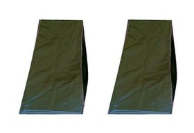 Patio Solution Covers Back-up Twinpack in Polyweave Pool Lounger Cover - Avo (Small)