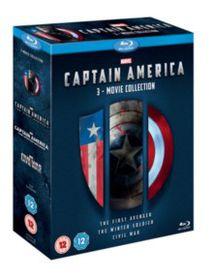 Captain America 1-3 Boxset (Blu-Ray - Parallel Import)