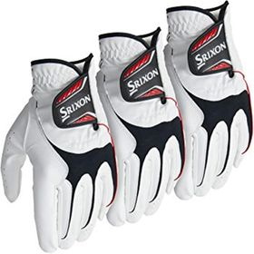 Srixon Men's All Weather Golf Glove x 3 - Left Hand