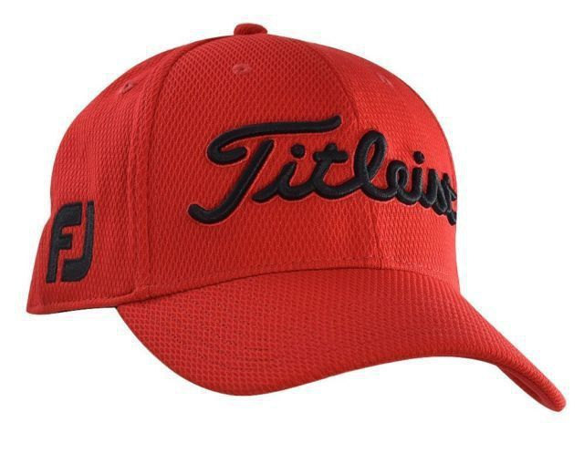 fd3520476b5 ... Titleist Dobby Tech Golf Cap - Red Black. Loading zoom outlet store  sale a52da ab969 ...