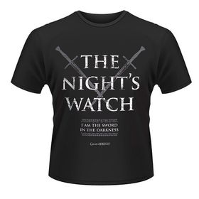 Game Of Thrones: The Night's Watch T-Shirt (Parallel Import)