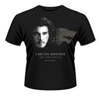 Game Of Thrones: Watcher On The Walls T-Shirt (Parallel Import)