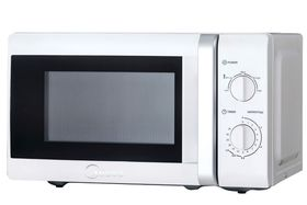 Midea - 20 Litre 700W Manual Microwave Oven - White