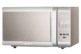 Midea - 28 Litre 900W Digital Microwave Oven - Silver