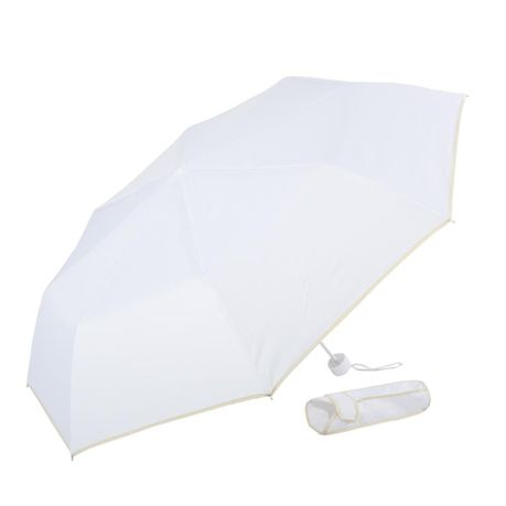 Alice Umbrellas Manual Open Windproof Mini Compact White Online In South Africa Takealot