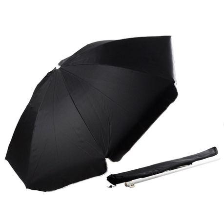 Beach Umbrella With Carry Bag Black