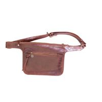 Mally Leather Belt Bag - Brown