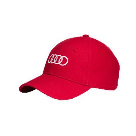 Audi Unisex Baseball Cap - Red  af254ff0219