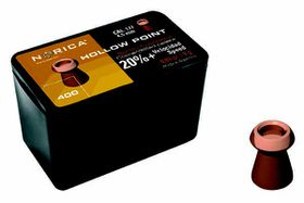 Norica Hollow Point Pellets 4.5mm 400 Count