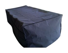 Patio Solution Covers Table & Chair Cover - Charcoal (Size: M)