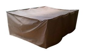 Patio Solution Covers Table Cover - Beige (Size: M)