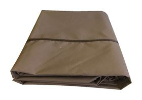Patio Solution Covers Table Cover - Taupe (Size: L)