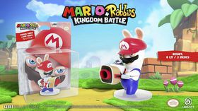 Mario + Rabbids Kingdom Battle: Rabbid Mario 3 Inch Figurine