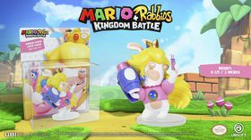 Mario + Rabbids Kingdom Battle: Rabbid Peach 3 Inch Figurine