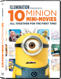 Minions Movie Collection - 10 Mini Movies (DVD)