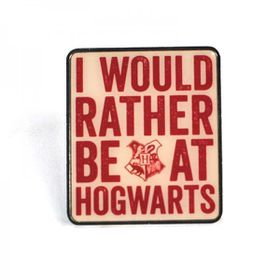 Harry Potter: Hogwarts Slogan Enamel Badge (Parallel Import)