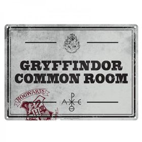 Harry Potter: Common Room Metal Wall Sign - A5 (Parallel Import)