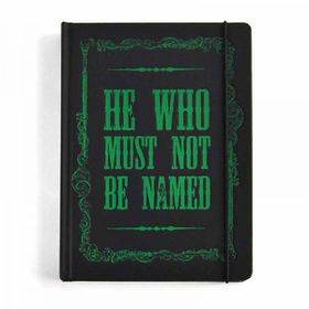 Harry Potter: Voldemort Notebook A5 (Parallel Import)