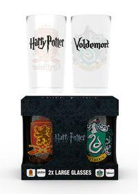 Harry Potter: Crests Glasses Set (Parallel Import)