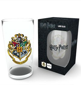 Harry Potter: Hogwarts Crest Large Glass (Parallel Import)