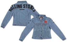 Rolling Stones: Arch Logo Denim Jacket (Parallel Import)