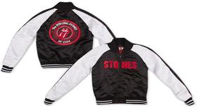 Rolling Stones: Stones Satin Varsity Jacket (Parallel Import)
