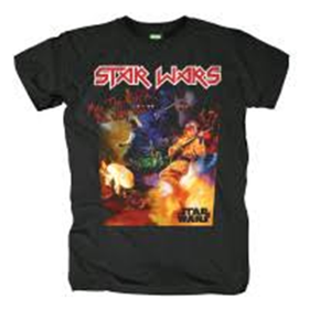 Star Wars: Seal - Black T-Shirt  (Parallel Import)