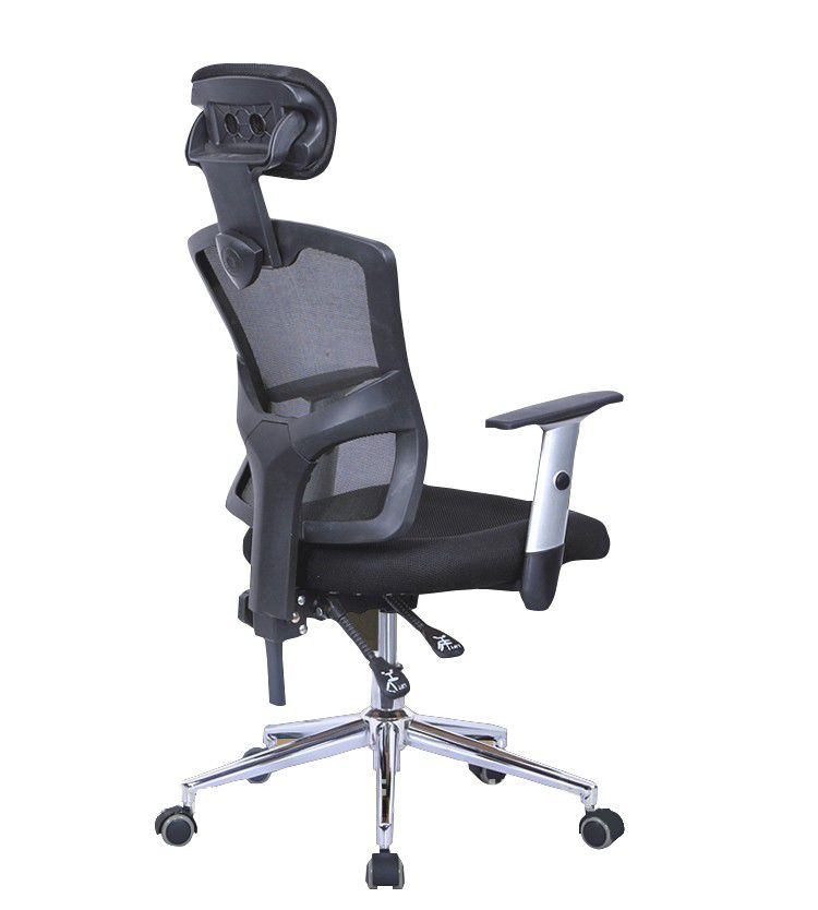chair with headrest. infinity everest office chair with headrest - black