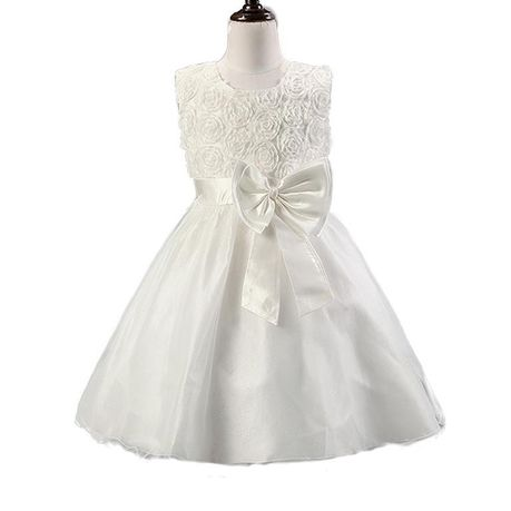 Snow White Roses Sparkle Princess Flowergirl Dress - White | Buy Online in South Africa | takealot.com