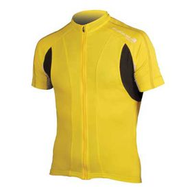 Endura FS260 Pro Short Sleeve Jersey II - Yellow