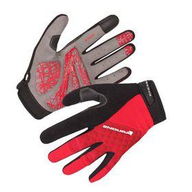 Endura Hummvee Plus Gloves - Red