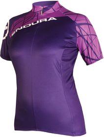 Endura Ladies Single Track Jersey - Purple