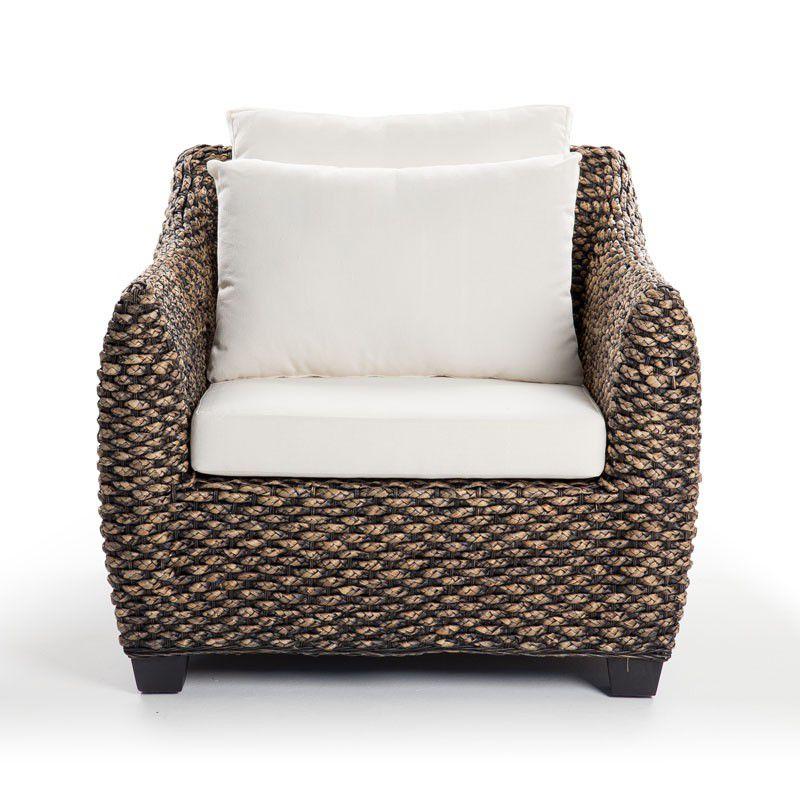 Cielo M Patio Lounge Chair Brown