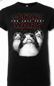 Star Wars: The Last Jedi Bird - Black T-Shirt (Parallel Import)