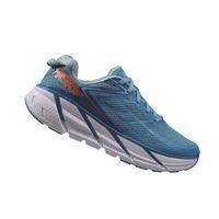 HOKA ONE ONE Womens Clifton 3 Running Shoe - Dresden Blue & Sky Blue