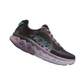 HOKA ONE ONE Womens Arahi Running Shoe - Medieval Blue & Lavender